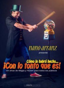 ESPECTÁCULO DE MAGIA CON NANO ARRANZ