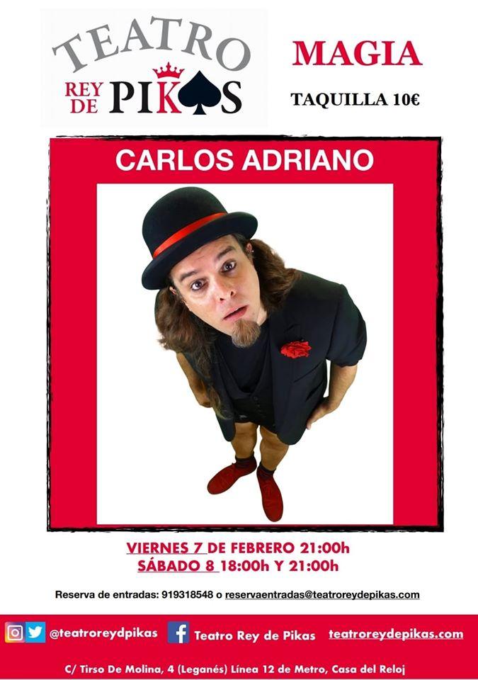 ESPECTÁCULO DE MAGIA DE CARLOS ADRIANO