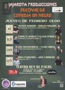 Festival de Comedia en Negro en el Teatro Rey de Pikas