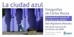 La ciudad azul en la Sala Rigoberta Menchú de Leganés