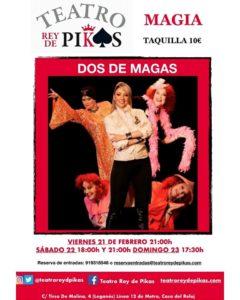 MAGIA EN EL TEATRO REY DE PIKAS CONDOS DE MAGAS