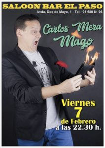 Magia con CARLOS MERA en el paso