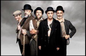 """Teatro """"ESPERANDO A GODOT"""" en el Saramago"""
