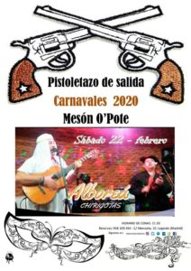 Carnavales 2020 pistoletazo de salida en el Mesón O´pote