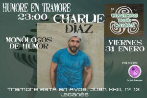 Humor en Tramore con Charlie Díaz