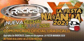 La fiesta naranja 2021 radical