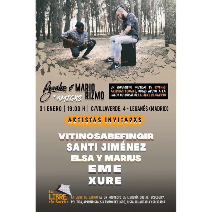 Encuentro Musical De Jóvenes Artistas De Leganés Besako y Mario Rizmo