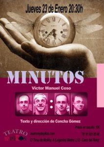 """Teatro: """"Minutos"""" en el Rey de Pikas"""
