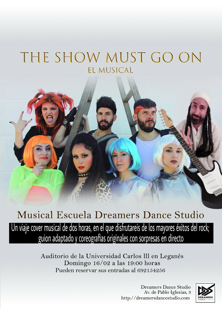 the show must go on DDS musical