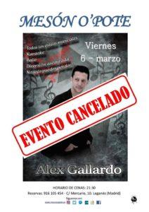 Bailes de Salón con Alex Gallardo en Mesón O'Pote