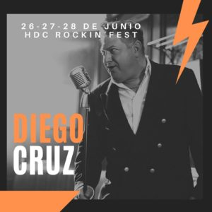 El cantante blanco de la voz negra, ya teníamos ganas de Huracán Diego Cruz