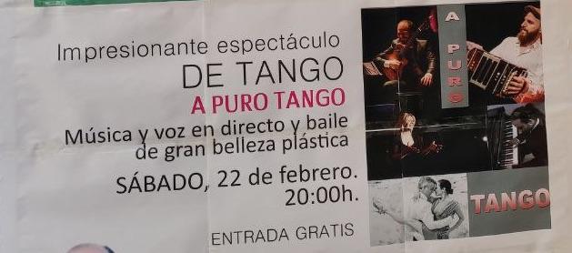 Espectáculo de tango A Puro Tango