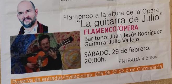 Flamenco a la altura de la ópera La Guitarra de Julio
