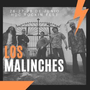 HDC Rockin fest 2020 Los Malinches
