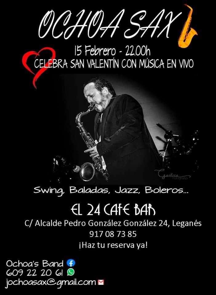 Música en vivo con Ochoa Sax