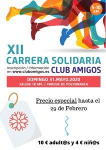 XII edición Carrera Popular por la Inclusión de las personas con discapacidad.