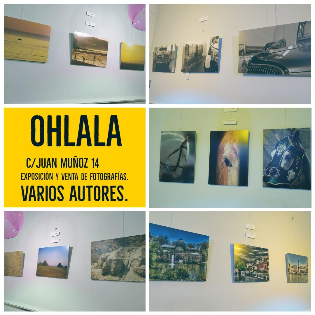 Exposición fotográfica en el Ohlala