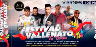 Primer Festival Vallenato 2020 en Leganes - OCIO EN LEGANES