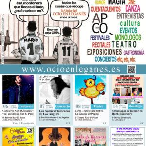 Revista Marzo 2020 - Portada - OCIO EN LEGANES