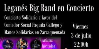 Big Band en concierto en el Egaleo