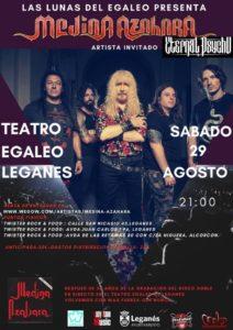 Medina Azahara vuelve al teatro Egaleo de Leganés