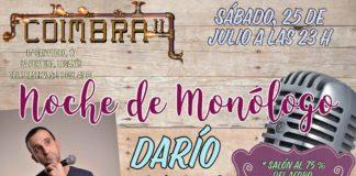 Monólogos con DARÍO MARES en el Coimbra en La Fortuna