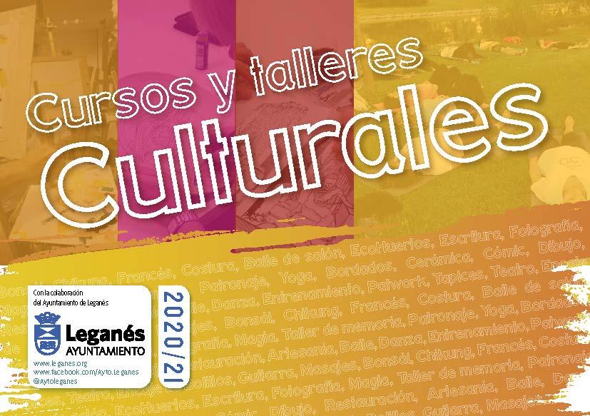 Cursos y talleres culturales 2020/21