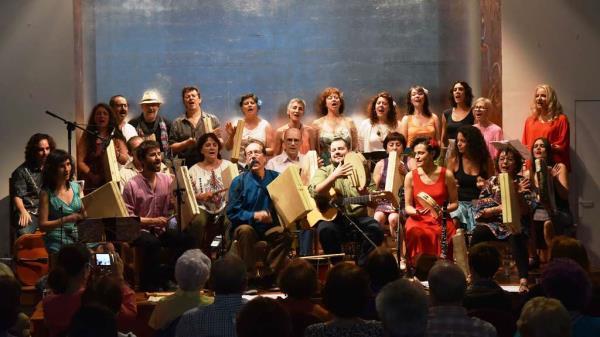 ELISEO PARRA Y LAS PIOJAS teatro Rigoberta Menchu