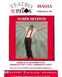 Espectáculo de magia con Rubén Reyeros
