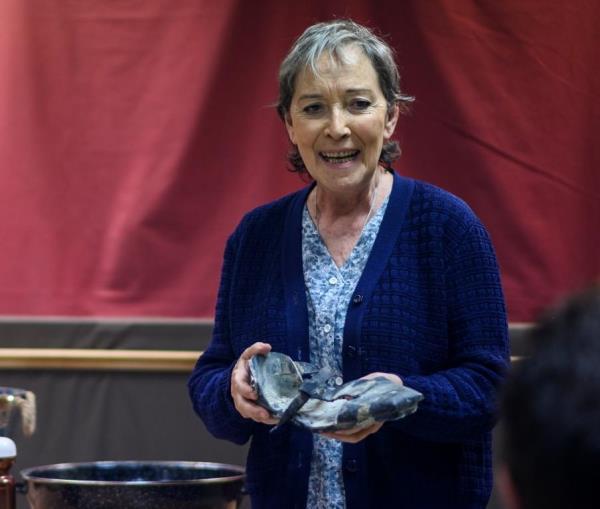 Vidas enterradas teatro Rigoberta Menchu