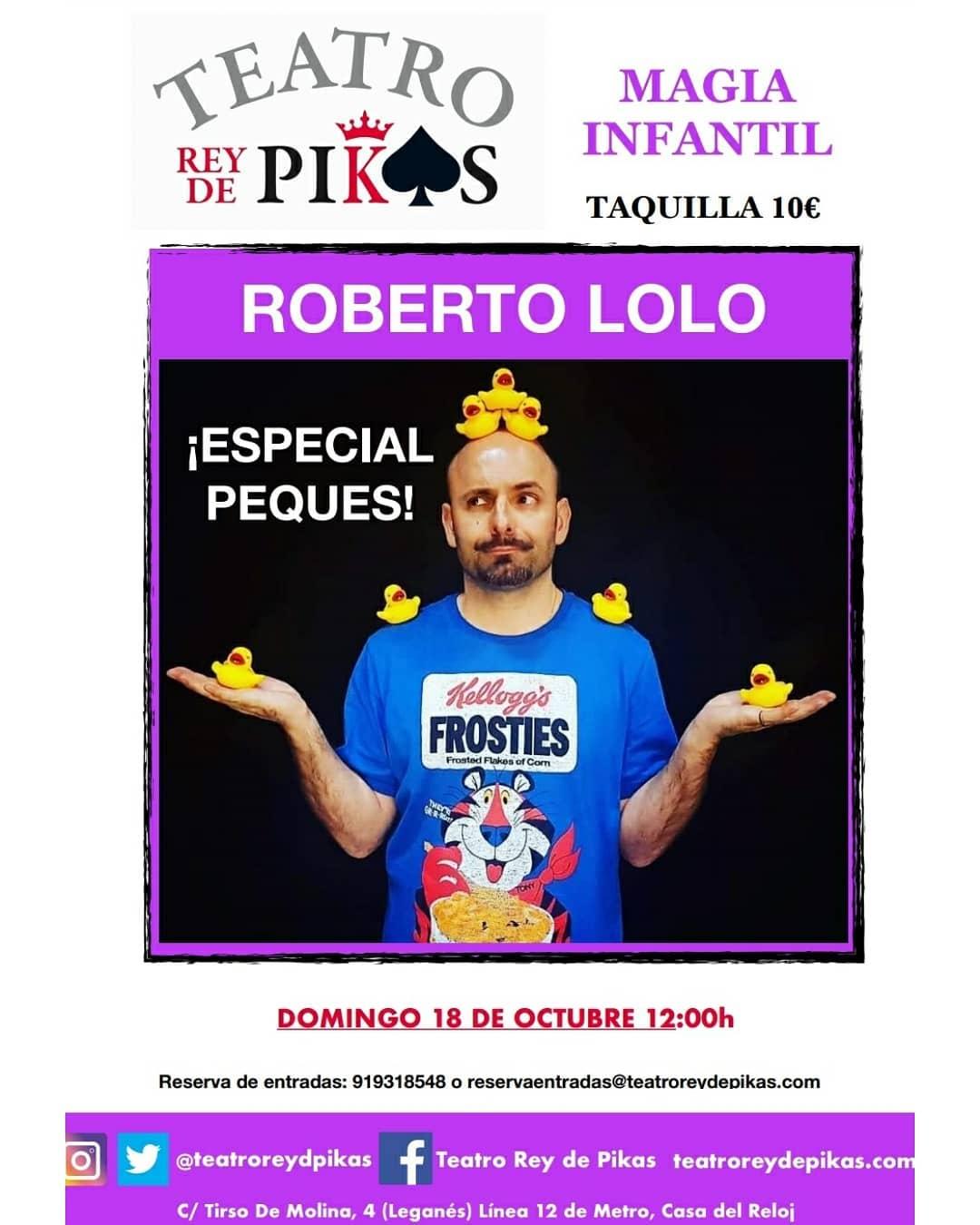 MAGIA ESPECIAL PEQUES con Roberto Lolo