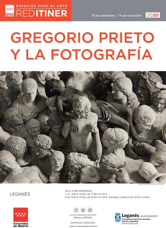 """Exposición fotográfica """"Gregorio Prieto y la fotografía"""" en el Saramago"""