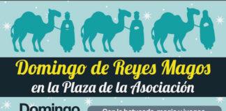 Domingo de Reyes Magos en la AV San Nicasio