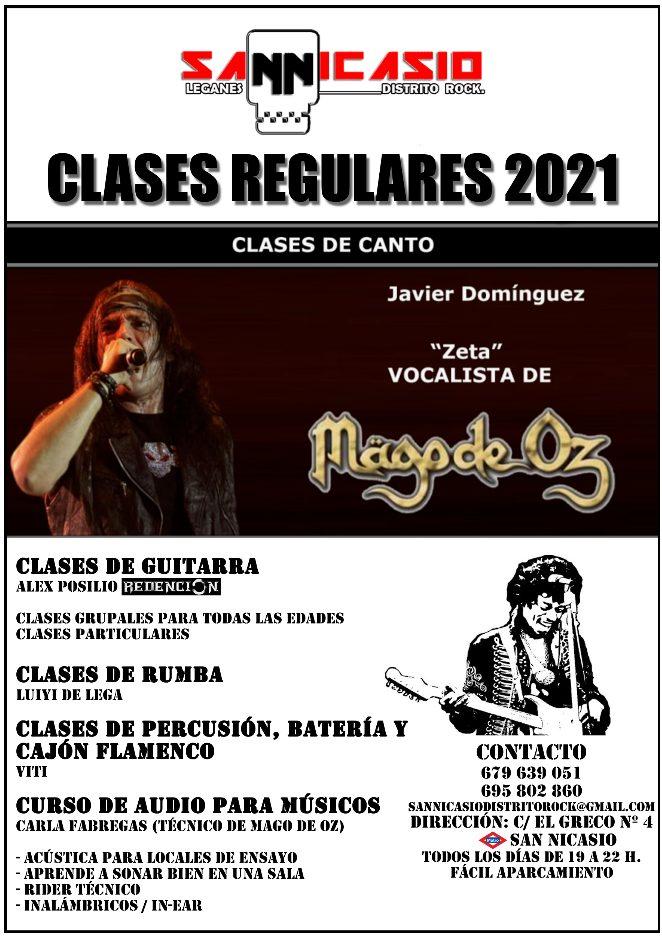 Escuela de música San Nicasio Distrito Rock