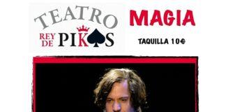 MiguelMuñozmago, artista de circo y co-director de Puntocero en el TEATRO REY DE PIKAS