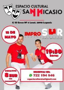 Comedia Improvisada en el espacio cultural San Nicasio con Improsur