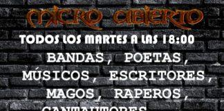 Micro abierto en San Nicasio Distrito Rock
