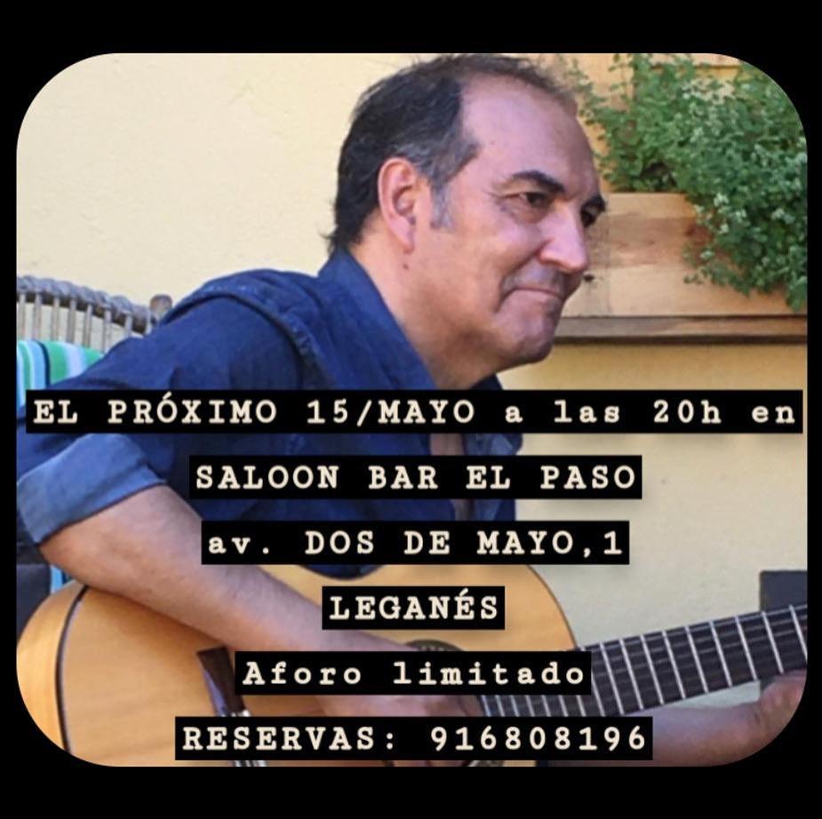 Tributo a Sabina por Keny Castellano en el Saloon Bar El Paso