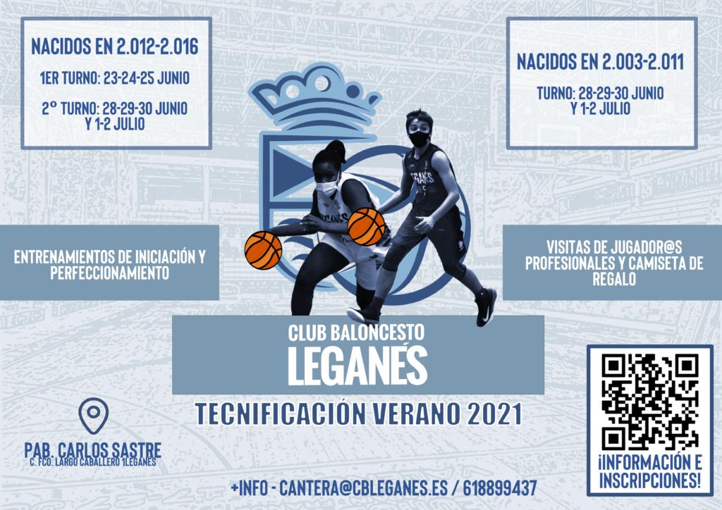 tecnificacion-verano-2021 - OCIOENLEGANES