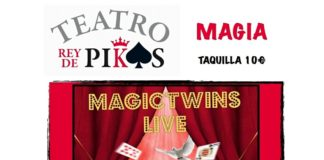 Espectáculo de magia MAGICTWINS LIVE en Teatro Rey de Pikas
