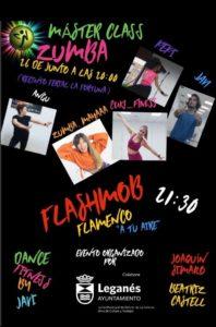 Masterclass de zumba y espectáculo de flamenco en el Recinto Ferial de La Fortuna