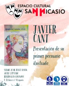 Presentación del poemario ilustrado de Javi Cant