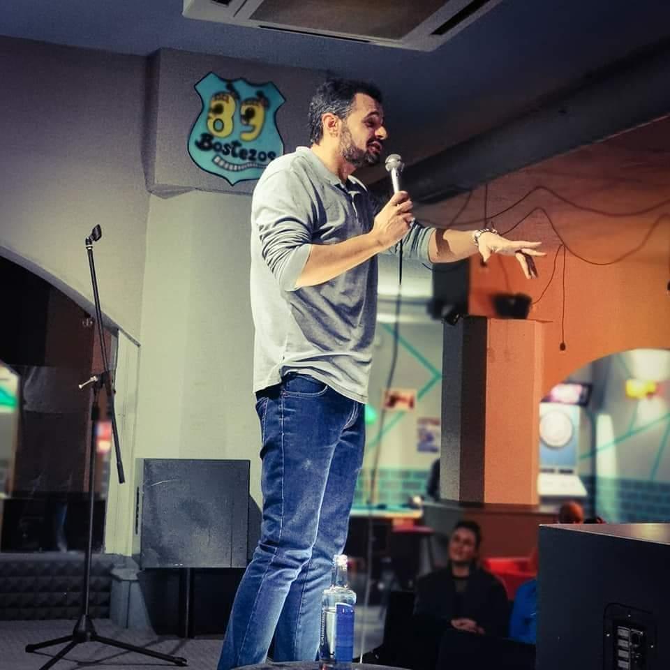 Andrés Pulido, un cómico muy social.