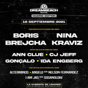 Dreambeach Festival Madrid Edition 2021