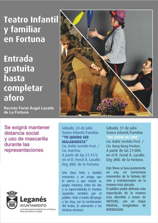 Teatro infantil y familiar en La Fortuna