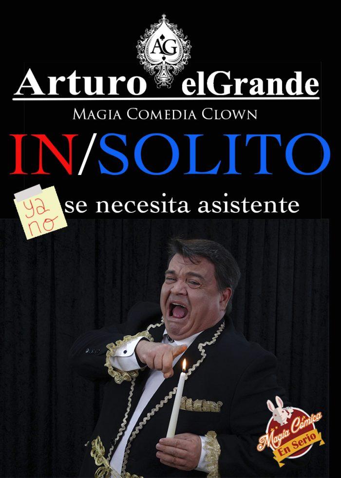 Arturo el Grande es mago cómico