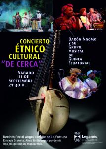 """Concierto étnico cultural """"De cerca"""""""