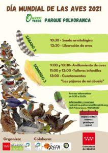 Día Mundial De Las Aves en el CEA Polvoranca