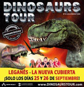 Dinosaurs Tour es la mayor exposición de dinosaurios animatrónicos a tamaño real