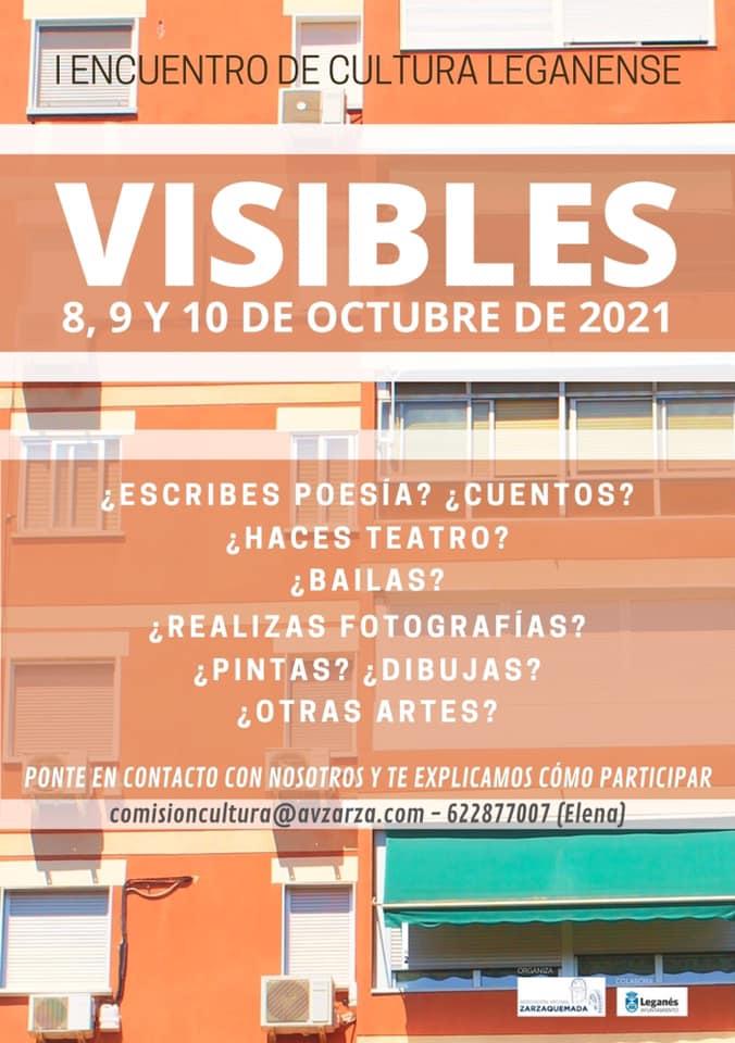 I Encuentro de Cultura Leganense VISIBLES